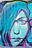 Graffitistraßenkunst durch Achilleus in Athen, Griechenland Lizenzfreies Stockbild