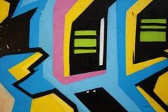 Graffitistraat 3 royalty-vrije stock afbeeldingen