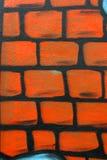 Graffititekening van de muur Royalty-vrije Stock Afbeeldingen
