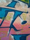 Graffititextuur Stock Foto's