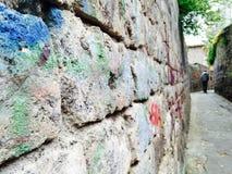 Graffitiweg Lizenzfreie Stockbilder