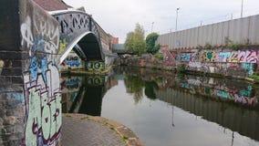 Graffitiwereld stock fotografie