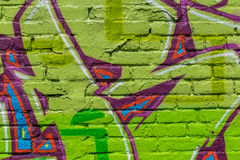 Graffitiwereld Stock Foto's