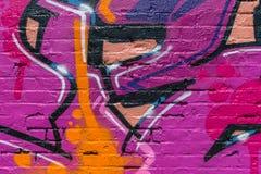 Graffitiwereld Stock Foto