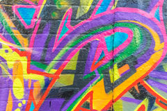 Graffitiwereld Stock Afbeeldingen