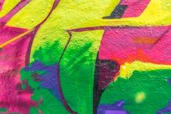 Graffitiwereld Royalty-vrije Stock Foto