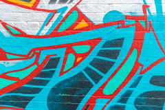 Graffitiwereld Royalty-vrije Stock Fotografie