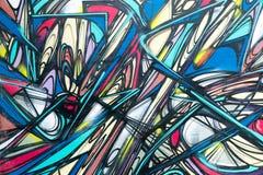 Graffitiwereld Royalty-vrije Stock Foto's