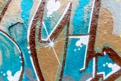 Graffitiwereld Stock Afbeelding