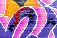 Graffitiwereld Stock Fotografie