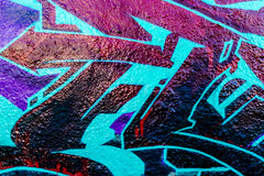Graffitiwereld Stock Foto's