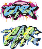 Graffito - cap Stock Photos