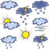 Graffito weather icon. Set of graffiti weather icon. Graffito icon. Element for design. Vector illustration Stock Image