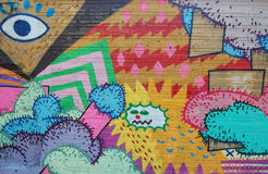 graffitti Στοκ Φωτογραφία