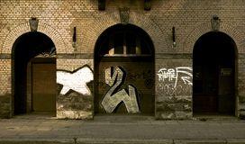 Graffitti Foto de Stock Royalty Free