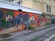 Graffitti Стоковые Фотографии RF