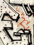 Graffitti Royalty-vrije Stock Afbeelding