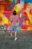 Graffitti artist Royalty Free Stock Image