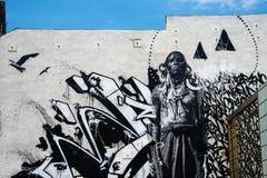 Graffitti 2 em Veneza, Califórnia Fotografia de Stock Royalty Free