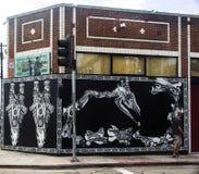 Graffitti # 3 em Veneza, Califórnia Fotos de Stock