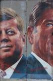 Graffitti kiści farby prezydenci Zdjęcia Stock