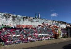 Graffitti Wall Royalty Free Stock Image