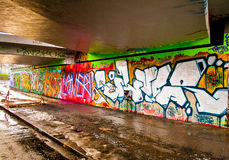 Graffitti Wall Stock Photos
