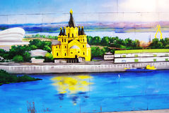 Graffity墙壁 免版税库存照片