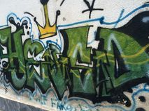 Graffity Royalty Free Stock Photography