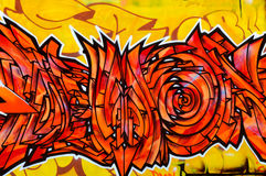 Graffity art Stock Images