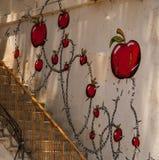 Graffity auf dem waal Lizenzfreie Stockfotografie