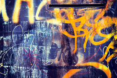 Graffity background Stock Photography