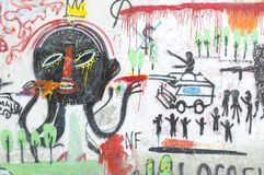 Graffity colorido Foto de Stock