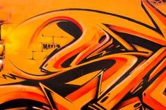 Graffity de Belgrado Imágenes de archivo libres de regalías