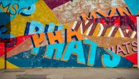 Graffity de la calle Fotos de archivo libres de regalías