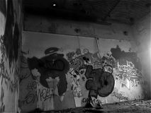 Graffity foi sempre arte fotografia de stock royalty free