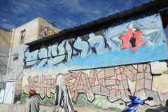 Graffity in Jerusalem Royalty Free Stock Photo