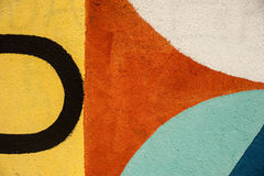 Graffity - minimalism royaltyfria foton