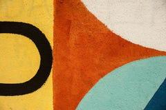 Graffity - minimalismo Fotografie Stock Libere da Diritti