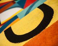 Graffity - minimalismo Fotografia Stock Libera da Diritti