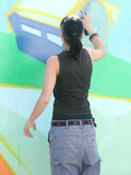 Graffity painter Stock Images