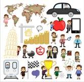 Grafica vettoriale di sport, di viaggio, di festa e di affari royalty illustrazione gratis