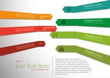 Grafici astratti di informazioni Immagine Stock