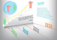 Grafici astratti di informazioni Fotografie Stock