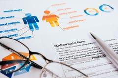Grafici commerciali e diagrammi Fotografia Stock
