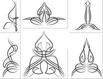 Grafici del gessato: Vinile pronto royalty illustrazione gratis
