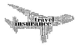 Grafici del Info-testo di assicurazione Fotografie Stock