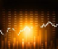 Grafici del mercato azionario Immagini Stock Libere da Diritti