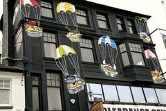 Grafici del paracadute Immagini Stock Libere da Diritti