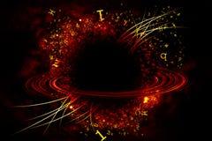 Grafici del Saturno. Fotografia Stock Libera da Diritti